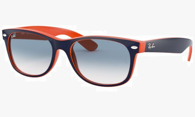 Lunettes de soleil Ray Ban RB2132 789/3F TOP BLUE-ORANGE