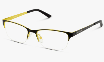 Lunettes de vue In Style ISBT02 BY BLACK--YELLOW