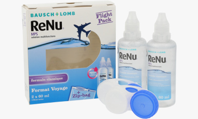 Produit Lentille Flight Pack RENU Renu MPS - Flight Pack