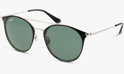 Lunettes de soleil Ray Ban 9545S 271 SILVER ON TOP BLACK