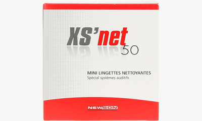 Audio  Mini lingettes nettoyantes x50  XS Net