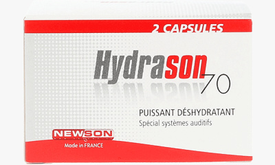 Audio  Recharges Hydrason 70g (x2)