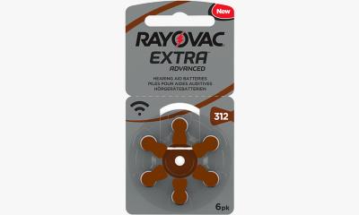 Audio  PILE AUDITIVE 312 RAYOVAC EXTRA (X6)