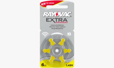 Audio  PILE AUDITIVE ZA 10 RAYOVAC EXTRA (X6)