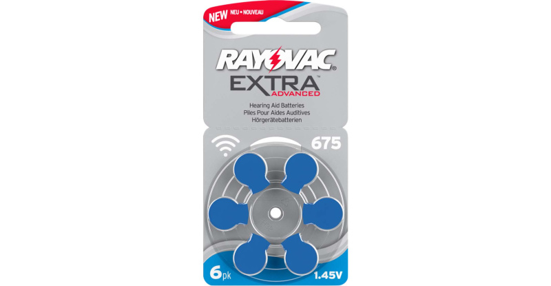 Audio RAYOVAC PILE AUDITIVE 675 RAYOVAC EXTRA (X6)