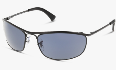 Lunettes de soleil Ray Ban RB3119 9161R5 TOP BLACK DEMISHINY/BLACK