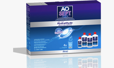 Produit Lentille AOSEPT PLUS HYDRAGLYDE 3X360ML Aosept Plus Hydraglyde 3x360ml