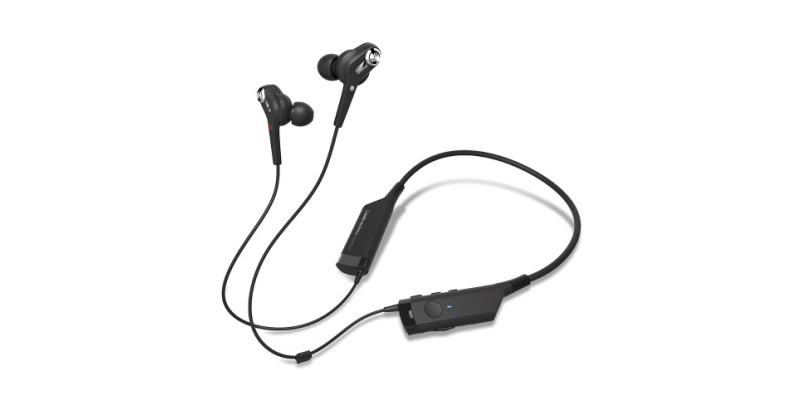 Audio AUDIO TECHNICA Ecouteurs Bluetooth à réduction de bruit active ATH-ANC40BT