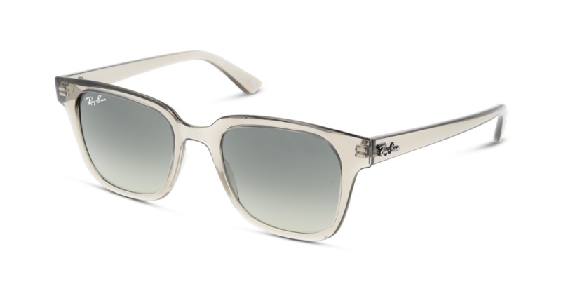 Solaire Ray Ban RB4323 6449/71 TRANSPARENT GREY