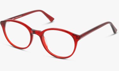 Lunettes de vue UNOFFICIAL UNOF0001 RT00 RED TRANSPARENT