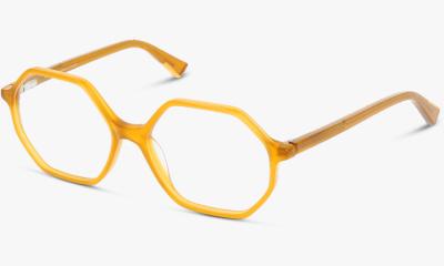 Lunettes de vue Unofficial 12 UNOF0168 YT00 Yellow Transparent