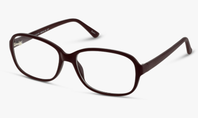 Lunettes de vue The One Seen Sante F SNGF01 RR RED RED