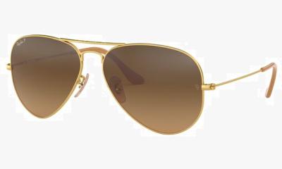 Lunettes de soleil Ray Ban RB3025 112/M2 MATTE GOLD