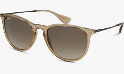 Lunettes de soleil Ray-Ban RB4171 651413 SHINY TRASP LIGHT BROWN