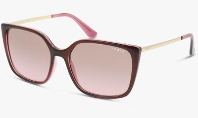 Lunettes de soleil Vogue Eyewear VO5353S 287314 TOP RED ON TRANSPARENT PINK