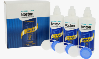 Produit Lentille BOSTON Boston Simplus - Pack 3X120Ml