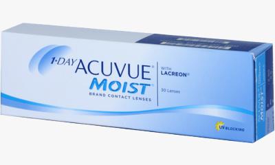 Lentilles de contact Acuvue 1 Day Acuvue Moist