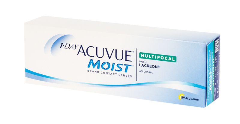 Lentilles de contact Acuvue 1 Day Acuvue Moist Multifocal