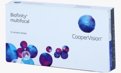Lentilles de contact Biofinity Biofinity Multifocal D