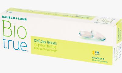 Lentilles de contact Biotrue BIOTRUE ONE DAY