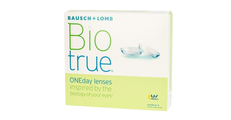 Lentilles de contact Biotrue BIOTRUE ONEDAY