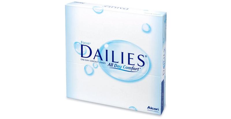 Lentilles de contact Dailies DAILIES ALL DAY COMFORT
