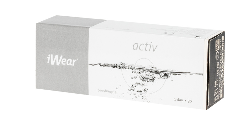 Lentilles de contact iWear iWear Activ Presbyopia High