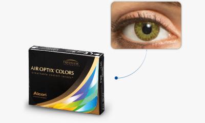 Lentilles de contact Air Optix Air Optix Colors VERT EMERAUDE