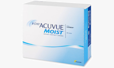Lentilles de contact Acuvue 1 Day Acuvue Moist