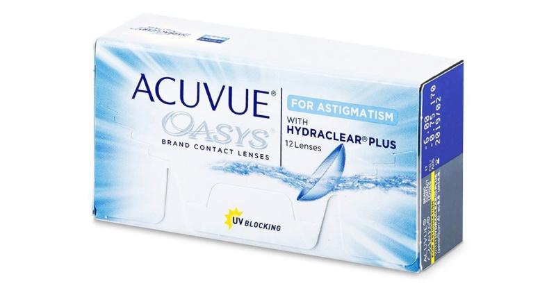 Lentilles de contact  Acuvue Oasys For Astigmatism