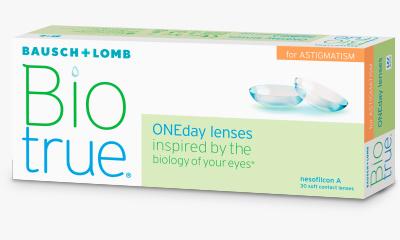 Lentilles de contact Biotrue Biotrue Oneday pour astigmates