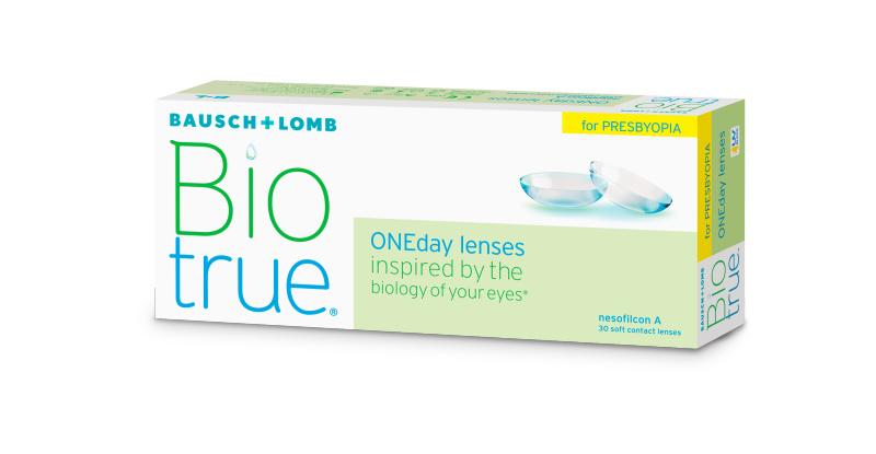 Lentilles de contact Biotrue Biotrue oneday pour presbytes