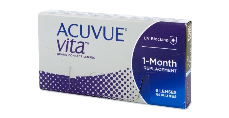 Lentilles de contact  Acuvue Vita