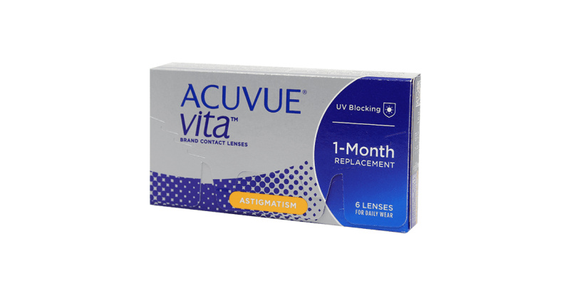 Lentilles de contact  Acuvue Vita for astigmatism