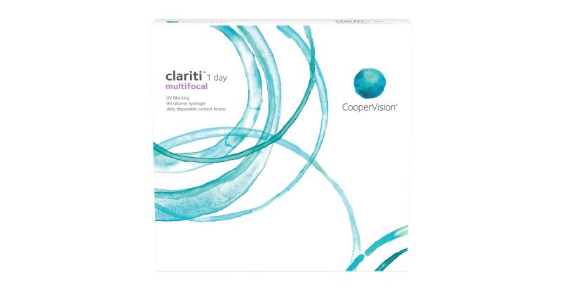 Lentilles de contact  Clariti 1 day multifocale