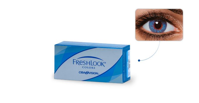 Lentilles de contact Freshlook Freshlook Colors SAPHIR