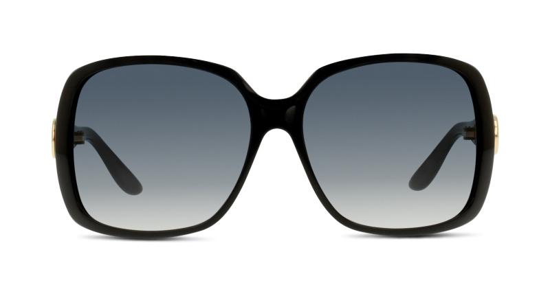 5c5d21a2045 Lunettes de soleil Gucci GG 3166 S D28 SHN BLACK