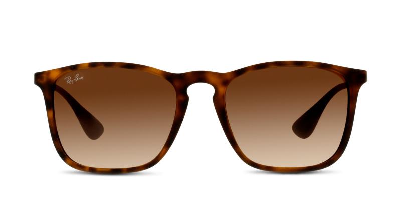 4605683bab Lunettes de soleil Ray Ban 4187 856 RUBBER HAVANA | Generale D'Optique
