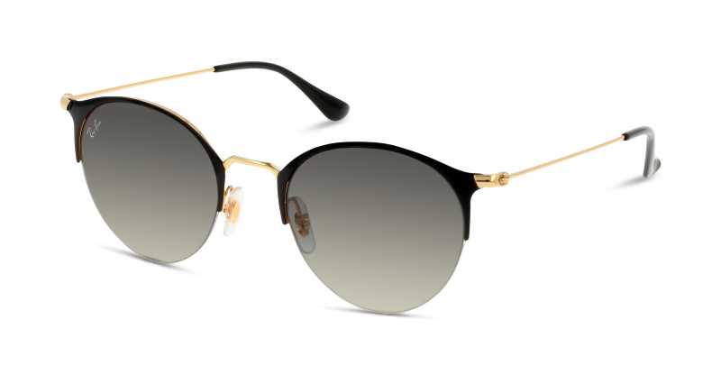 Lunettes Ray Gold Soleil Shiny Ban Newamp; 187 Top De Black 3578 wOuTPkXZil