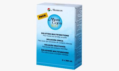 Produit Lentille MENICARE Menicare Soft - Pack 2X360Ml