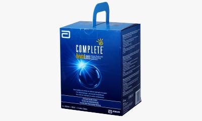 Produit Lentille COMPLETE Complete Revitalens - Pack 3X360 Ml + 1X60Ml
