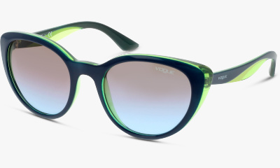 Lunettes de soleil Vogue 2963S 231148 TOP BLUE/TR AQUA GREEN