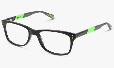 Optique Nike Optique NIKE 5538 001 BLACK-FLASH LIME