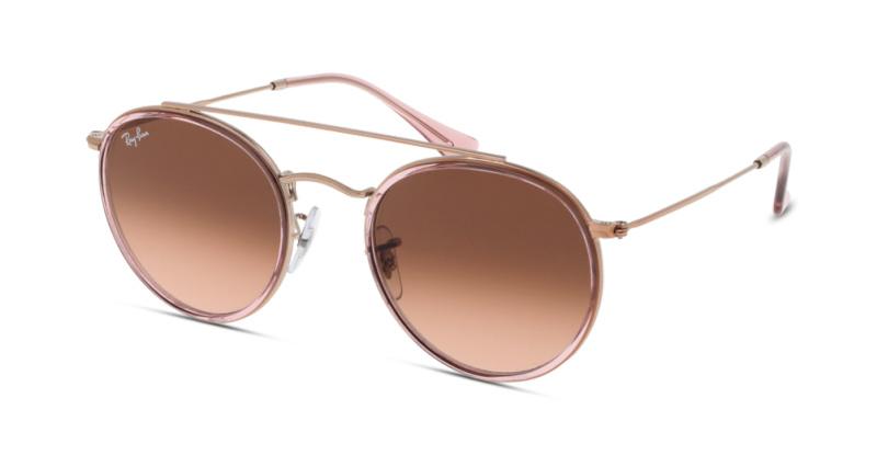 lunette soleil ray ban femme verre rose