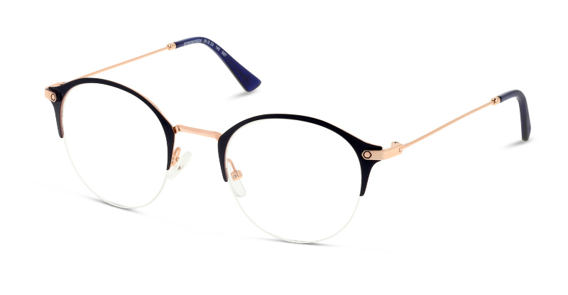 Optique In Style ISHF22 CD NAVY BLUE - GOLD