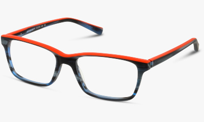 Optique Fuzion FUIT03 CO NAVY BLUE-ORANGE
