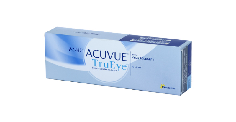 Lentilles de contact Acuvue 1 Day Acuvue Trueye