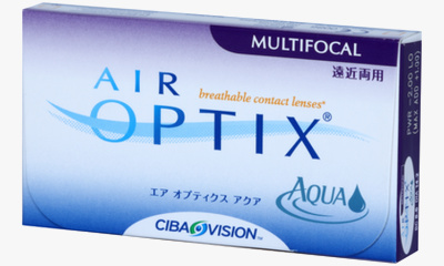 Lentilles de contact Air Optix Air Optix Aqua Multifocal