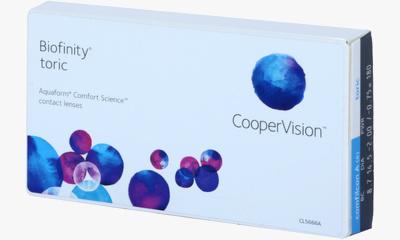 Lentilles de contact Biofinity Biofinity Toric